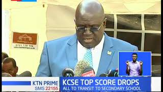 KCPE top score drops as 2019 results are announced