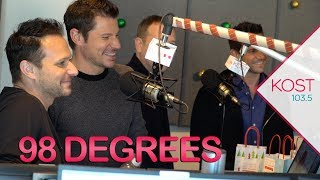 98 Degrees Performs 'Let It Snow' + Talks Touring, Holidays & More!