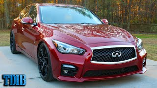 525HP Infiniti Q50 Review: Four Door Nissan 400Z? by That Dude in Blue