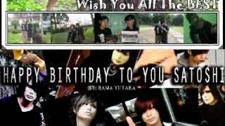 Birthday Message For Satoshi Girugamesh