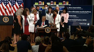 Trump signs executive orders to reduce drug prices
