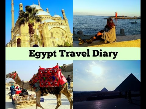 ♡EGYPT TRAVEL DIARY - Cairo, Alexa, Dami