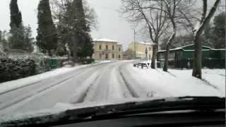 preview picture of video 'PISA-san piero a grado sotto la neve 17 dicembre 2010 (HD) HQ'