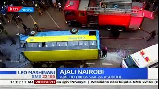 Watu kadhaa wajruhiwa kwenye ajali barabarani kati kati mwa jiji la Nairobi