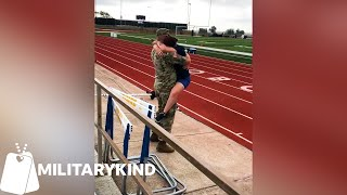 Football game kicks off with ear-shattering surprise | Militarykind