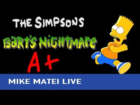 Bart's Nightmare (SNES) A+ Grade - Mike Matei Live