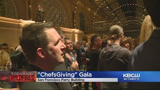 WILDFIRE RELIEF:  Chefs Giving Week ends with gala to help raise money for wildfire victims