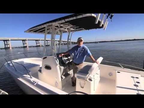 Boston Whaler 240 Dauntlessvideo