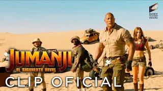 Sony Pictures Entertainment JUMANJI: SIGUIENTE NIVEL. EL juego ataca de nuevo. En cines 13 de diciembre. anuncio