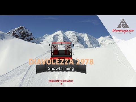 Snowfarming Diavolezza, Švýcarsko