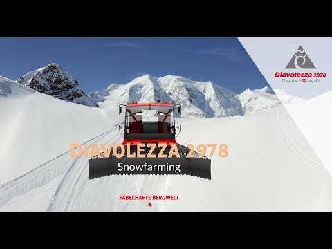 Snowfarming Diavolezza, Švajčiarsko