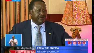 Raila Odinga speaks on his social life and leisure time
