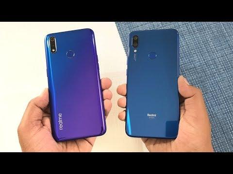 Realme 3 Pro vs Redmi Note 7 SpeedTest & Camera Comparison