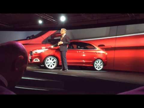 Ford Figo Concept unveiled in India
