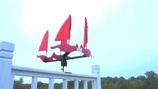Cardinal Wind Spinner - Wind & Weather