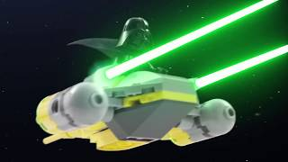 Battle of Naboo - LEGO STAR WARS - Stop-Motion Story