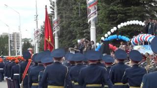 Кемеровские кадеты бросают мелочь на удачу