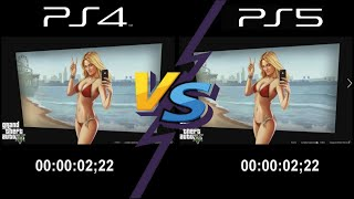 PS4 VS PS5 : Insane Load Time Comparaison (GTA 5, RDR2,Days Gone)
