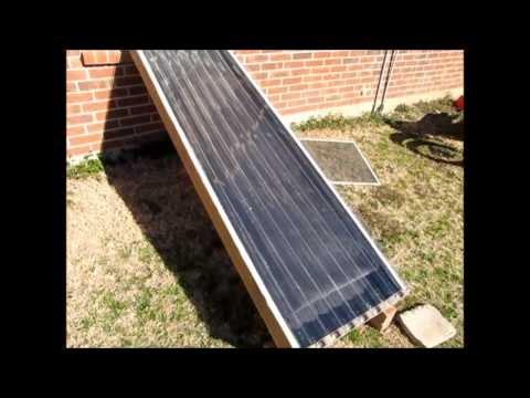 Diy Solar Collector For Domestic Heating Deepresource