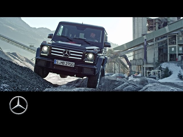 A challenging offroad experience with the G-Class - Offroad Tracks Part II - Mercedes-Benz original