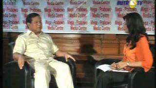 "Prabowo Berbicara Mengenai Politik, Strategi ""Perang"", dan Keberanian untuk Merebut Kemakmuran"