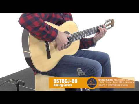 ORTEGA GUITARS | OSTBCJ-BU - Percussion Series
