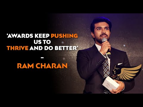 Ram Charan, Actor & Entrepreneur - Audi RITZ Icon Awards 2015