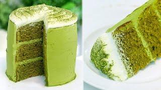 How to make the PERFECT Matcha Green Tea Cake   RECIPE
