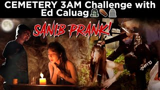 CEMETERY 3 AM CHALLENGE WITH ED CALUAG (Ouija board SANIB bonus scene)