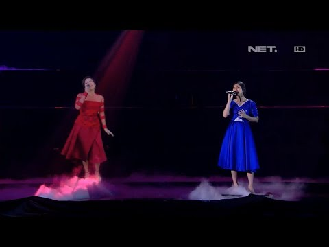 Isyana & Raisa - Mimpi & Anganku Anganmu - LIVE From NET 4.0 Presents Indonesian Choice Awards 2017 - Netmediatama