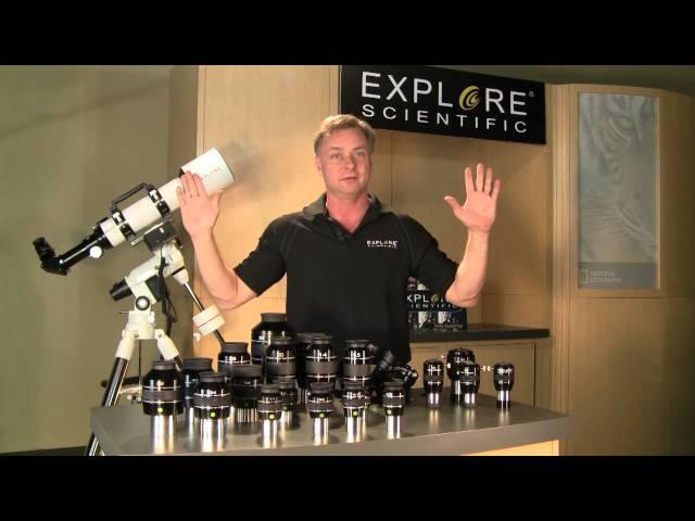 Explore Scientific AR102 FirstLight Doublet Refractor with EXOS2GT GoTo Mount - FL-AR1021000EXOS2GT