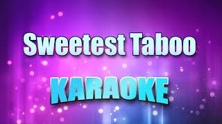 Sade   Sweetest Taboo (Karaoke Version With Lyrics)