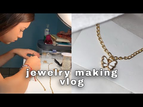Starting a Jewelry Business Vlog