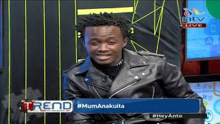 THE UNSPOKEN ABOUT #BAHATI | SHEDS PAINFUL TEARS | THE TREND NTV