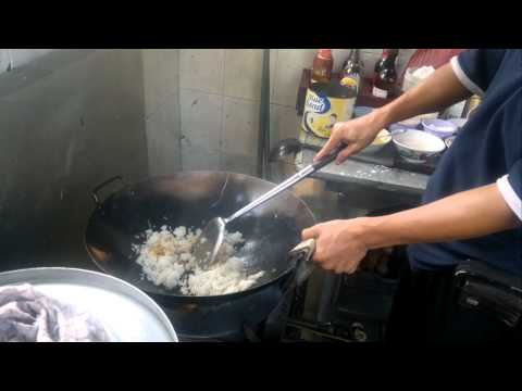 Video Chinese Food ( Chicken Fried rice ) ( Nasi Goreng Ayam )