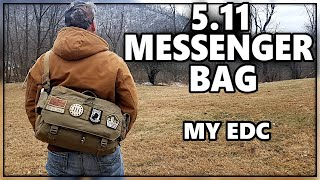 BEST Everyday Carry (EDC) Bag - 5.11 Rush Delivery Lima Messenger Bag - Check Out What I Carry!!