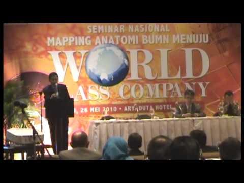 Ignasius Jonan, Dirut PT. KAI, Pembicara Seminar World Class Company