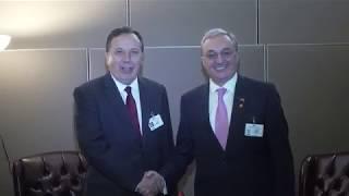Le ministre des Affaires étrangères d'Arménie a eu une rencontre avec son homologue tunisien