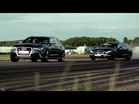 Cls 63 Amg Shooting Brake Versus Audi Rs 6 Avant