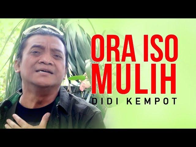 Didi Kempot - Ora Iso Mulih [OFFICIAL]