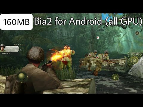 Brothers In Arms 3 APK+DATA Highly Compressed    150MB In