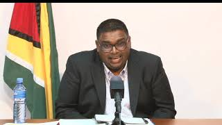 Update by President-elect Dr Irfaan Ali June 11th 2020