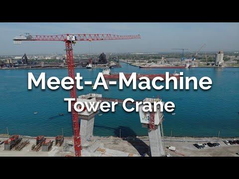 Kids ask a Tower Crane Operator Questions - Meet-A-Machine