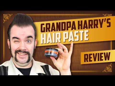 Super für dünne Haare! | Murray's Grandpa Harry's Hair Paste Review | english subtitles