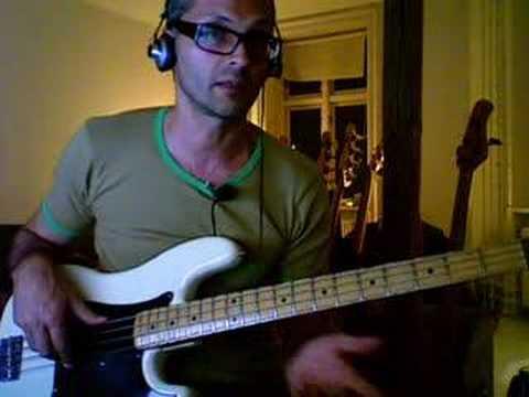 beginning bass line exercise / lesson