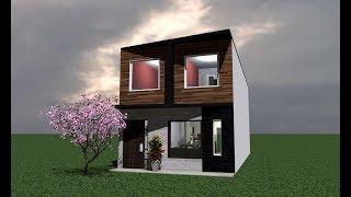 Casa 5x12 mts / House 5 x 12 Mts