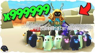 WE MADE A PENGUIN ARMY (Unlimited Money) | Beach Simulator