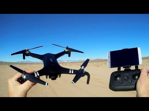 JJRC C-Fly X7 SMART GPS Brushless FPV Camera Drone Flight Test Review