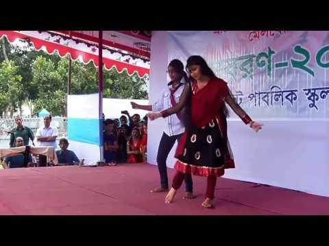 Bogra Cantorment College  Girl Dance   Best Dance in 2017