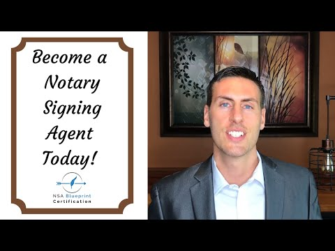 How to Become a Notary Signing Agent [Today!] // Signing Agent ...